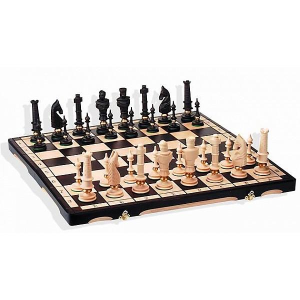 """Chess set """"Eron"""" (size  65 X 64 cm / 25.59"""" X 25.59"""" inches)"""