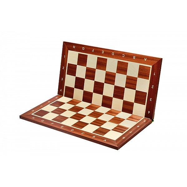 """Wooden foldable chess board (size 55 X 55 cm / 21.65"""" X 21.65"""" inches)"""