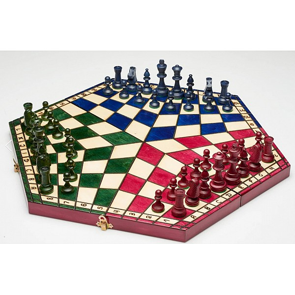 Chess for 3 players (colored)