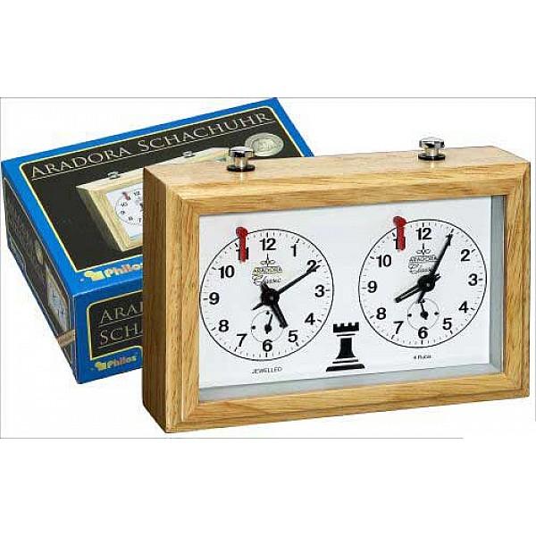 Analog chess clocks