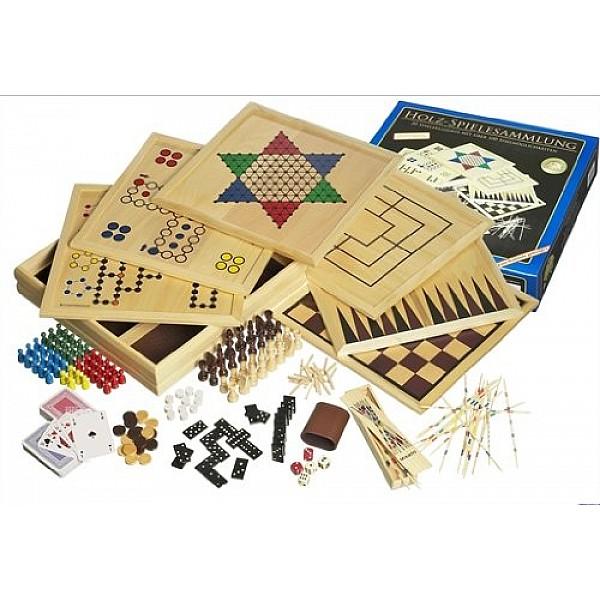 Wooden Game Compendium 100