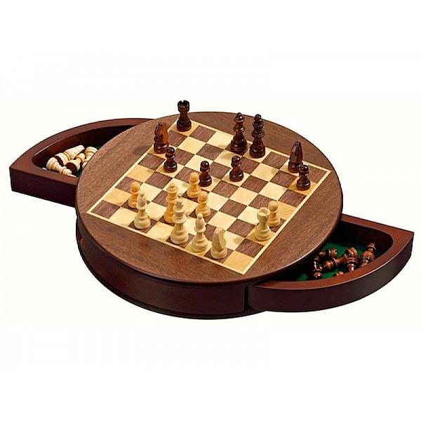 "Magnetic chess set (diameter 30.5 cm / 12"" inch)"