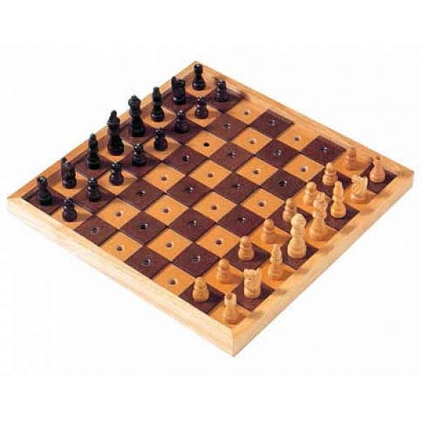 Chess sets for blind people
