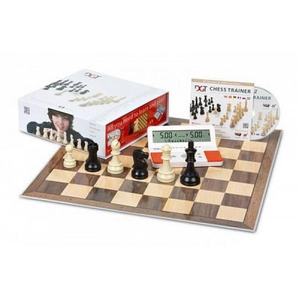 Chess set  DGT red