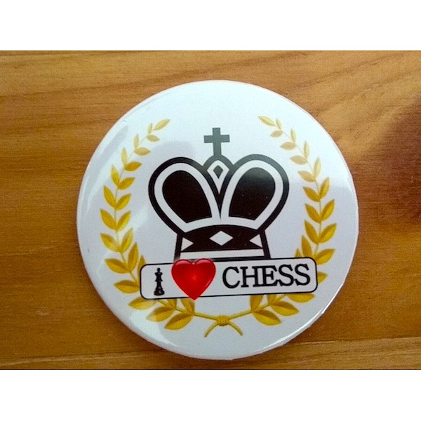 Chess magnet button - king