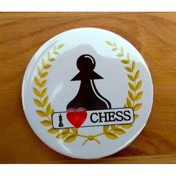 Chess magnet button - pawn