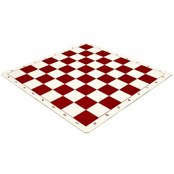 Vinyl chess board  red