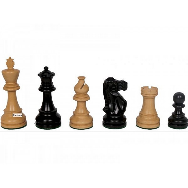 Chess pieces American staunton -  King's height 9.5 cm / 3.75 inch