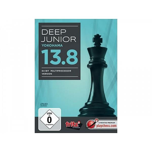 Deep Junior 13.8 mulitprocessor version  DVD