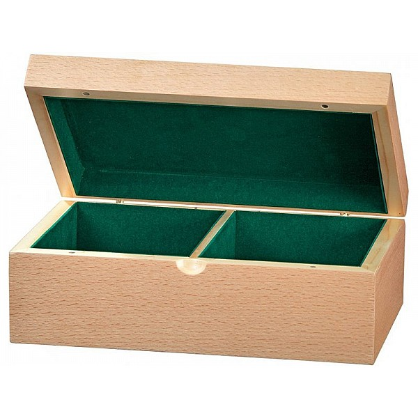 Wooden case for chess pieces