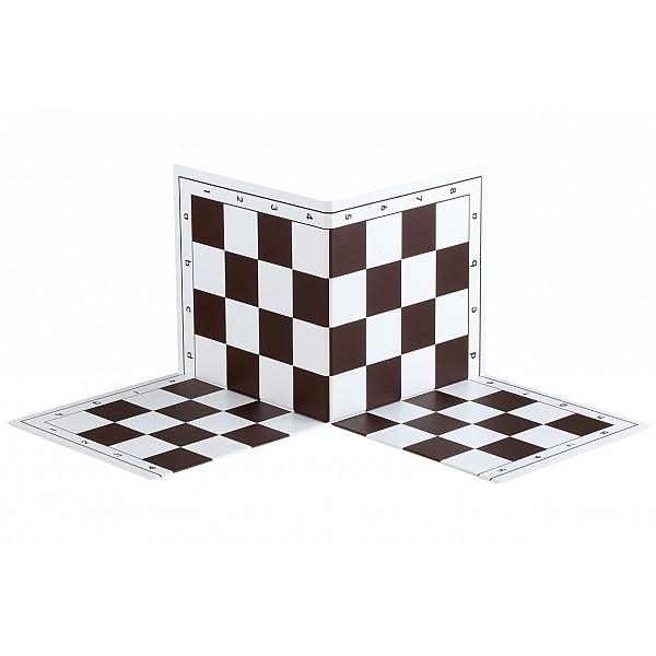 Two fold tournament plastic chess board