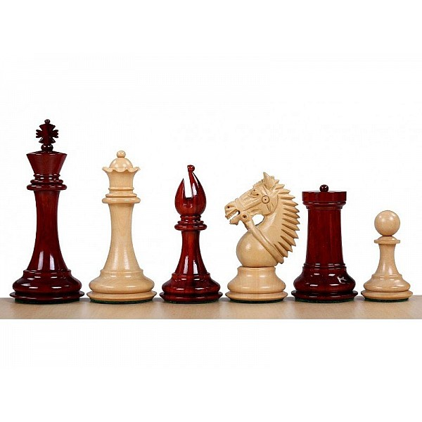 """Chess pieces """"Made in america"""" - King's height 10.11cm / 4"""" inch"""