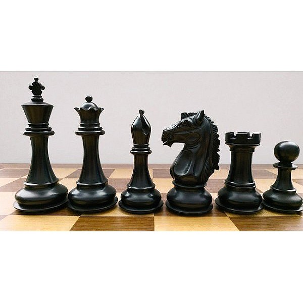 """Chess pieces August  - King's height  11 cm  /  4.21 """" inch & wooden case"""