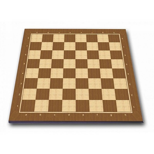 """Pearl economy wooden chess board  ( 45 X 45 cm / 17.71"""" X 17.71"""" inches)"""