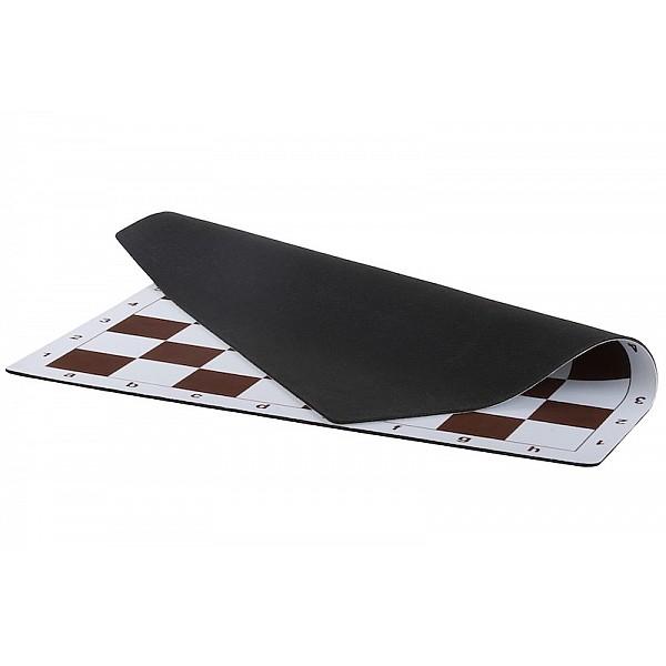 Vinyl chess board with foam