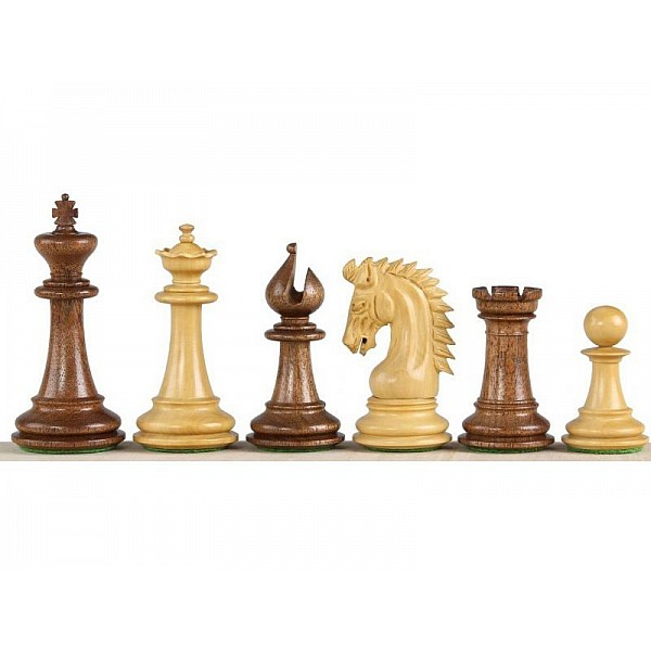 """Chess pieces Sheffield  - King's height 10.11 cm  /  4"""" inch"""