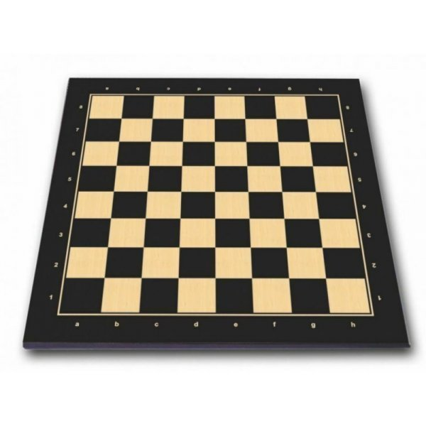 "Black economy wooden chess board  (45 X 45 cm / 17.71"" X 17.71"" inches)"