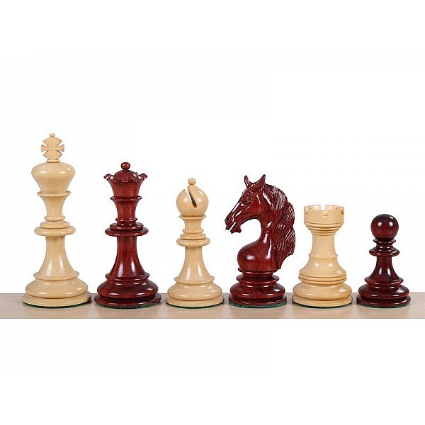 """Chess pieces Unicorn Redwood  -King's height  11 cm  /  4.21 """" inch"""