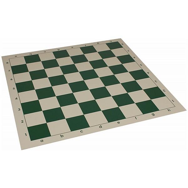 Vinyl chess board  green