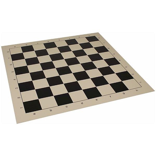 Vinyl chess board  black