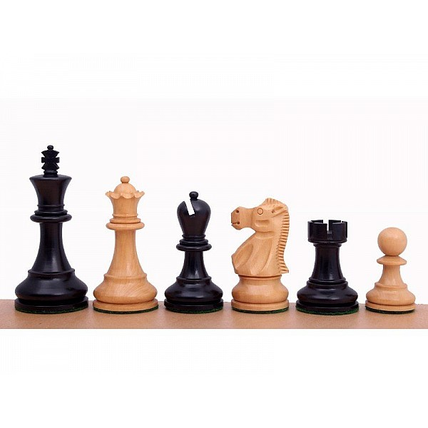 """Chess pieces Fisher-Spassky  -  King's height 9.5 cm / 3.75""""  inch"""