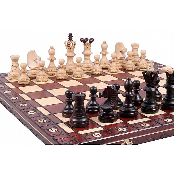 Wood chess sets (complete)